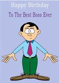 Boss - Greeting Card